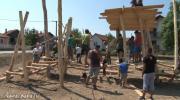 Naselje Tombak dobija prvo dječije igralište /VIDEO/
