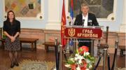 Gradonačelnik Mićić u Kruševcu povodom Dana Grada