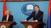 Milorad Dodik - Srpski član Predsjedništva BiH; Željka Cvijanović - Predsjednik Republike Srpske
